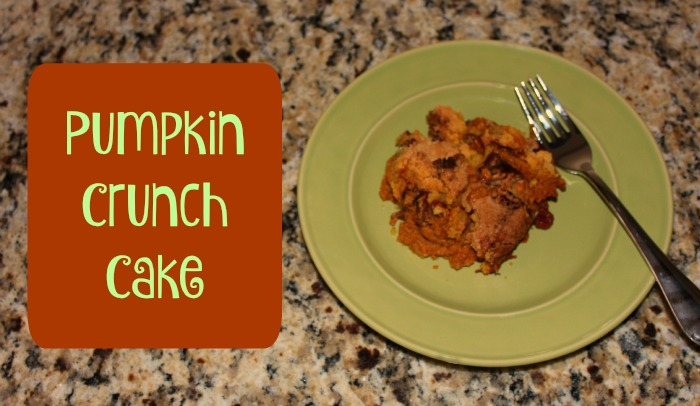 Pumpkin Crunch Cake Cover