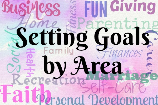 Setting Goals by Area